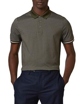 Ted Baker - Holybob Print Polo Shirt