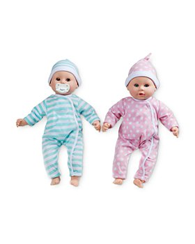 Melissa & Doug - Mine to Love Twins Luke & Lucy Dolls - Ages 18 Months+