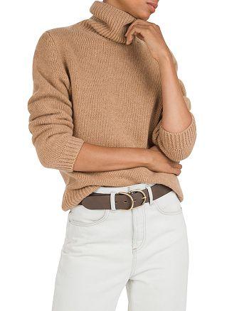 ba&sh - Lace Cashmere Turtleneck Sweater