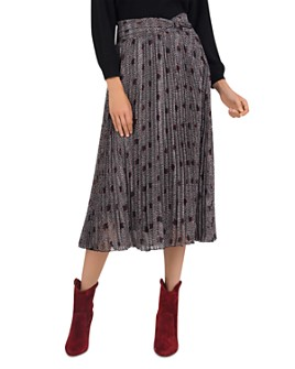 ba&sh - Pichu Pleated Midi Skirt
