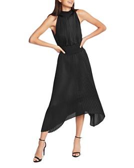 1.STATE - Pleated Midi Dress
