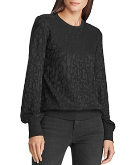 Ralph Lauren - Metallic Jacquard Sweater