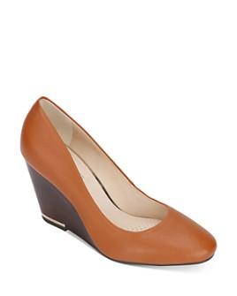 Kenneth Cole - Women's Merrick Wedge Heel Pumps