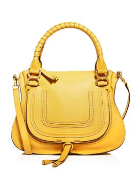 Chloé - Marcie Medium Leather Satchel