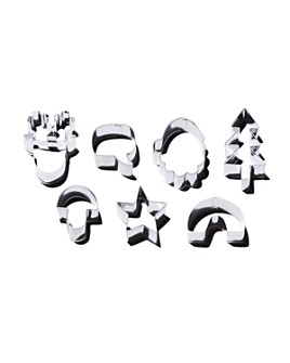 Meri Meri - Festive Icons Cookie Cutters, Set of 7