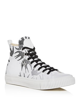 McQ Alexander McQueen - Men's Swallow Plimsoll High-Top Sneakers