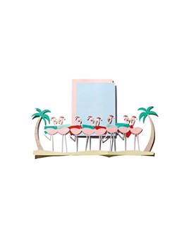 Meri Meri - Festive Flamingo Card