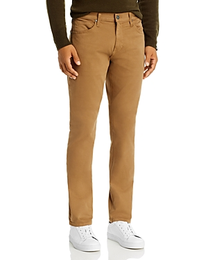 Paige Federal Slim Straight Jeans in Hazel Wood-Men