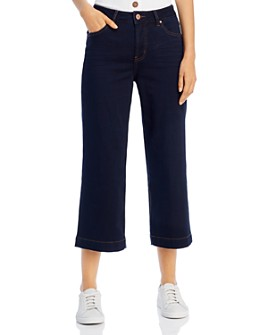 JAG Jeans - Lydia Wide-Leg Cropped Jeans in Celestial Blue