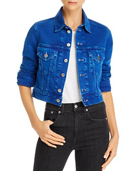 Helmut Lang - Femme Little Trucker Denim Jacket