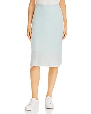 Helmut Lang Velvet Slip Skirt