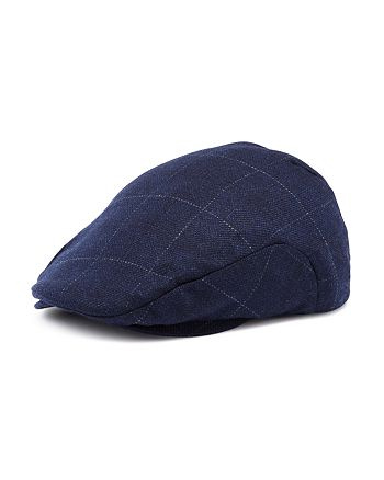 The Men's Store at Bloomingdale's - Cashmere & Wool Windowpane-Plaid Driving Cap