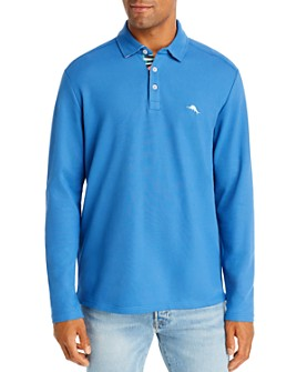 Tommy Bahama - Five-O'Clock Long-Sleeve Classic Fit Polo Shirt