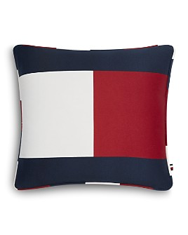 "Tommy Hilfiger - Flag Decorative Pillow, 18"" x 18"""