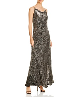 Elie Tahari - Jazzie Sequined Gown