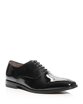 BOSS - Men's Highline Patent Leather Plain-Toe Oxfords