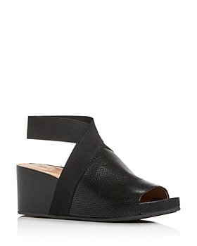 Gentle Souls by Kenneth Cole - Women's Gisele Perforated Wedge Platform Sandals