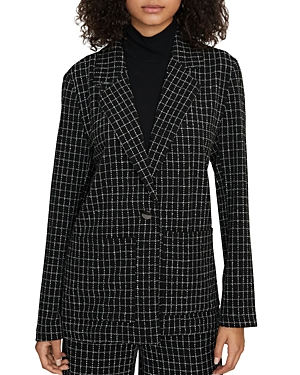 Sanctuary Blazers WINDOWPANE CHECK BOYFRIEND BLAZER