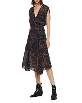 ALLSAINTS - Romina Rosalyn Drawstring Dress