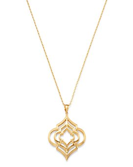 """Bloomingdale's - Geometric Pendant Necklace in 14K Yellow Gold, 18"""" - 100% Exclusive"""