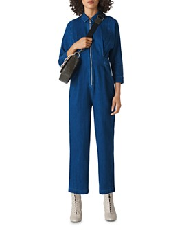 Whistles - Jolie Denim Jumpsuit