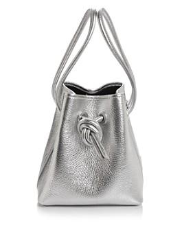 VASIC - Bond Small Leather Bucket Bag