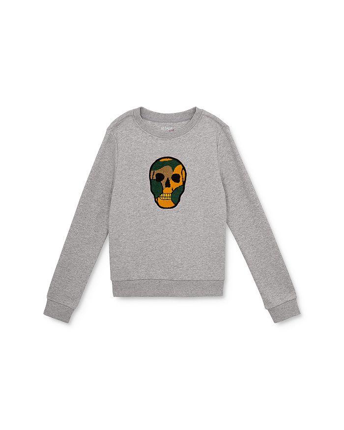 Hudson - Boys' Dexter Skull Sweatshirt - Big Kid