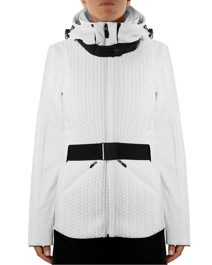 Post Card Olympic Ski Coat In White