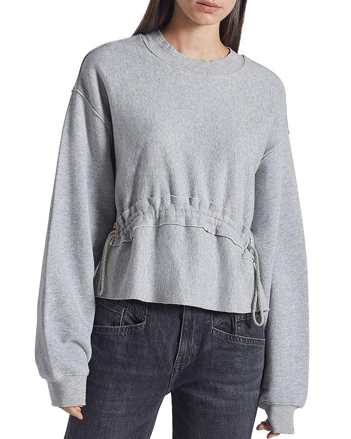 Current/Elliott - The Bloom Drawstring Sweatshirt