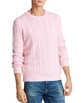 Polo Ralph Lauren - Cable-Knit Cashmere Regular Fit Sweater