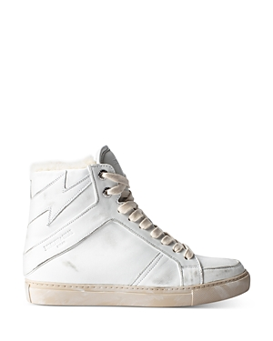 Zadig & Voltaire Sneakers WOMEN'S ZV1747 HIGH-TOP SNEAKERS