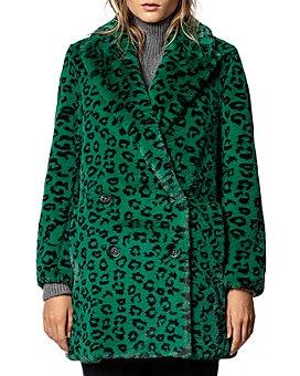Zadig & Voltaire - Motty Leopard-Printed Faux-Fur Coat