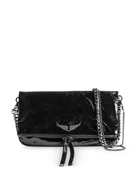 Zadig & Voltaire - Rock Patent Leather Crossbody Bag