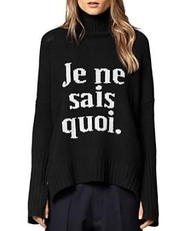 Zadig & Voltaire - Alma JNSQ Merino-Wool Sweater