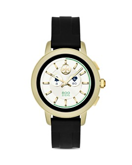 Tory Burch - Tory Silicone Strap Touchscreen Smartwatch, 42mm