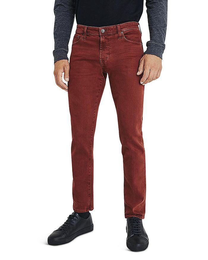 AG - Tellis Slim Fit Jeans in 7 years Sulfur Rich Crimson