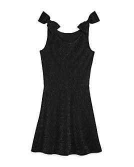 AQUA - Girls' Sparkle Bow Dress, Big Kid - 100% Exclusive
