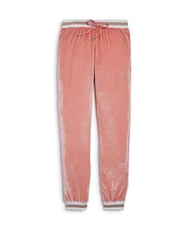 AQUA - Girls' Velvet Jogger Pants, Big Kid - 100% Exclusive