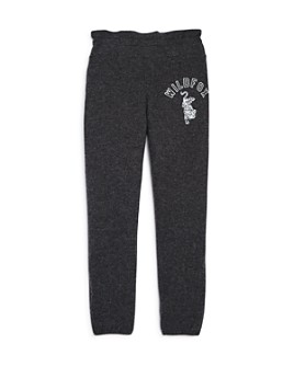 WILDFOX - Girls' Leopard Graphic Jogger Pants - Big Kid