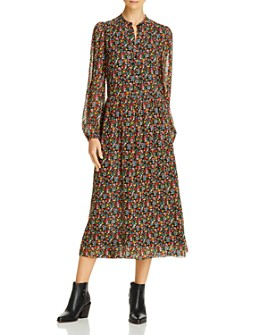 Notes du Nord - Neeve Floral Print Shirtdress