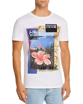 Versace Jeans Couture - Tropical Postcard Tee