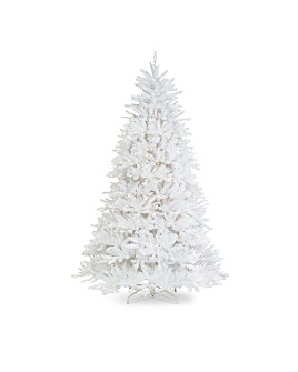 National Tree Company - 7 ft. Dunhill® White Fir Tree with Clear Lights