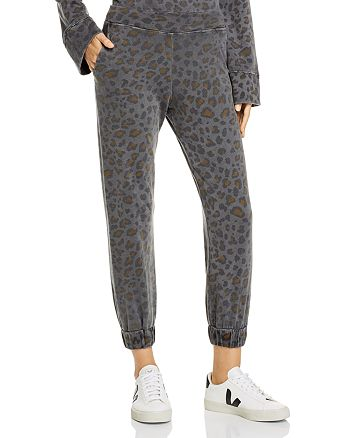 Sundry - Leopard Print Sweatpants