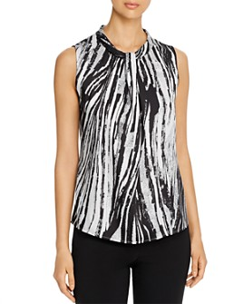 BOSS -  Iyabo Sleeveless Printed Top