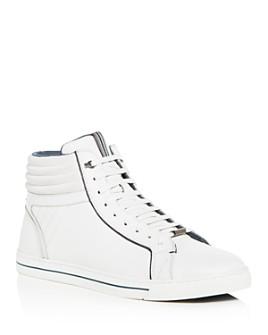 Ted Baker - Men's Glyburt Leather High-Top Sneakers - 100% Exclusive