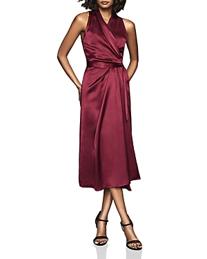 Reiss Dresses MOA DRAPED WRAP DRESS