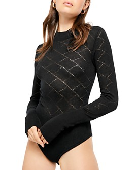 Free People - What's The Pointelle Bodysuit
