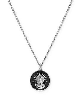"MIANSAI - Lady Liberty Pendant Necklace, 24"""