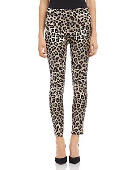 Karen Kane - Piper Leopard Jacquard Skinny Pants