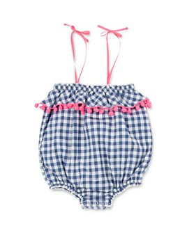 EGG new york - Girls' Ella Checkered Romper - Baby